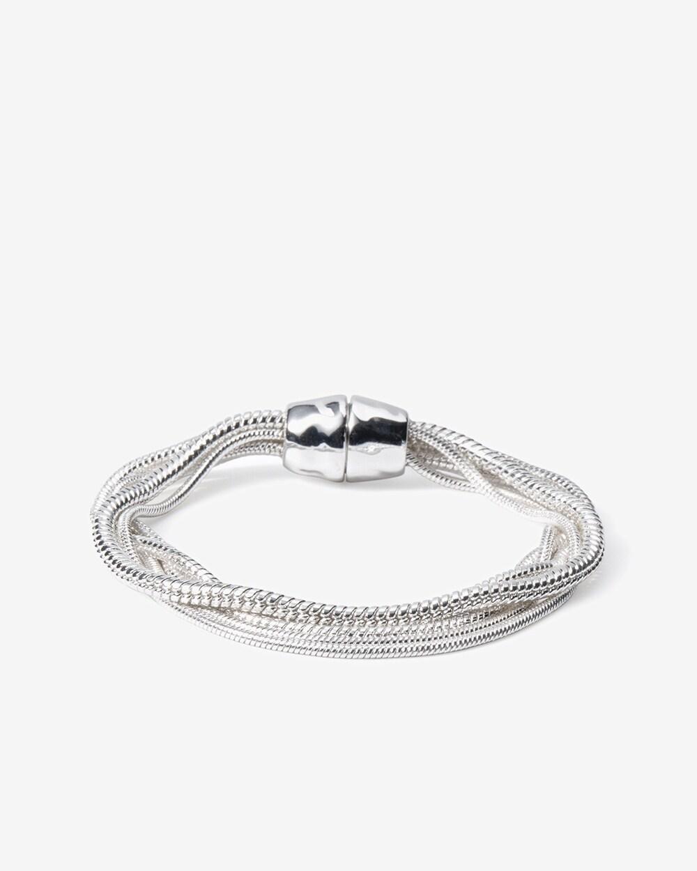 Cascading Snake Chain Bracelet