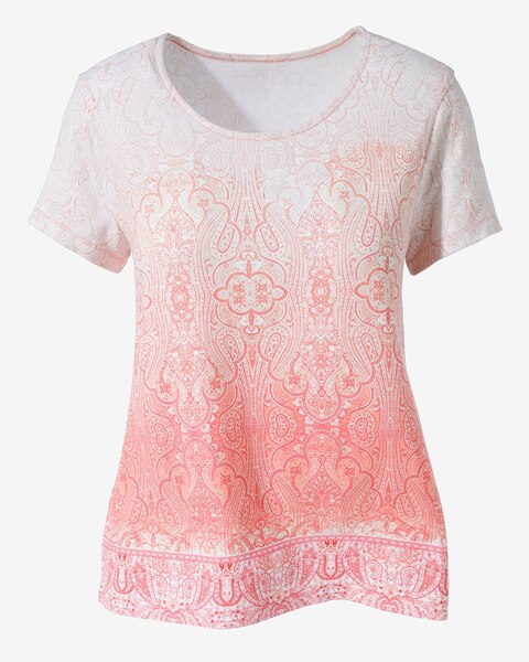 60a3185da8 Paisley Kingdom V-Neck Tee - Chico s Off The Rack - Chico s Outlet