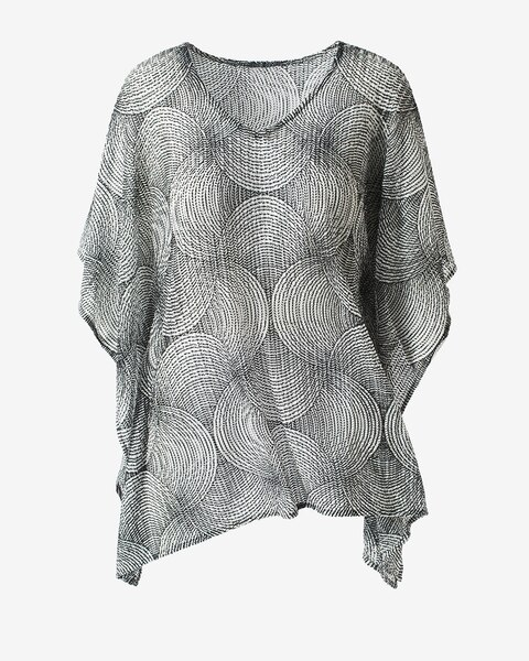 a2c57826dadd3 Swirls Poncho - Chico's Off The Rack - Chico's Outlet