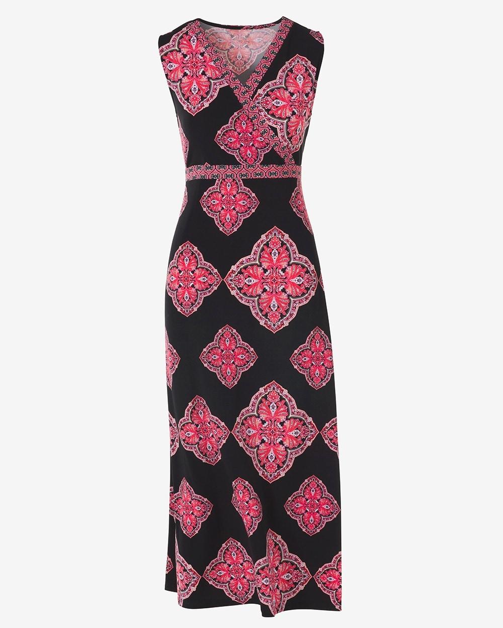 a0f15ce27a Malaga Tile Empire-Neck Maxi Dress - Chico's Off The Rack - Chico's ...