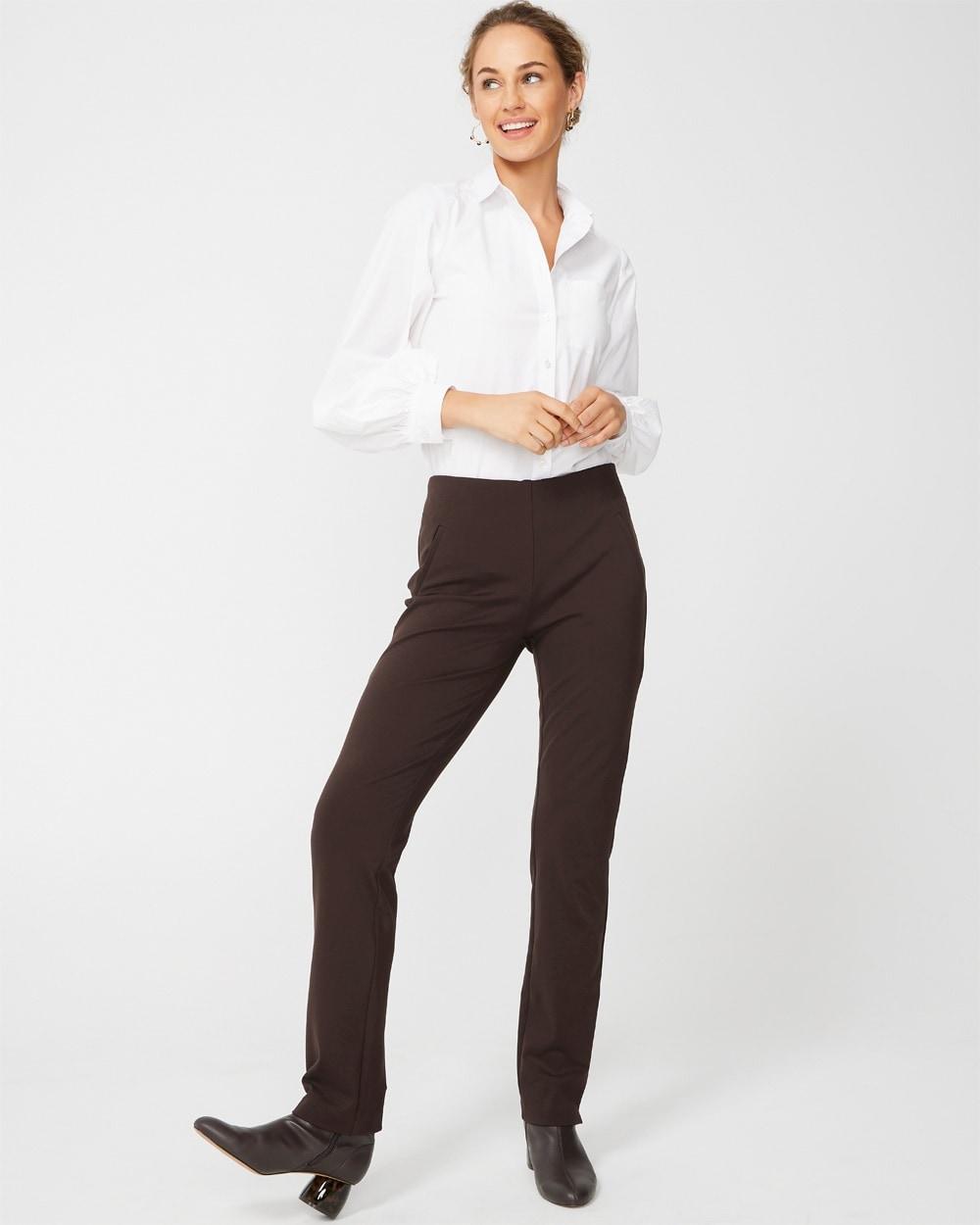 Final Sale Ponte Spandex Skinny Leg Pant NO Returns